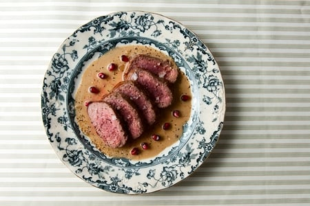 Belgian venison backstrap recipe
