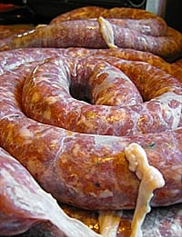 greek loukaniko sausage recipe