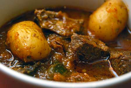 North African venison stew recipe
