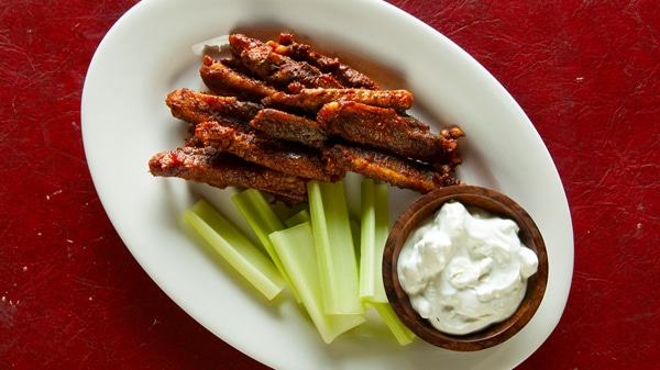 duck buffalo wings recipe
