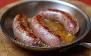 sausages-in-pan