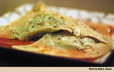 borage ravioli recipe