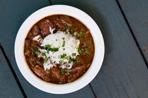 venison gumbo recipe