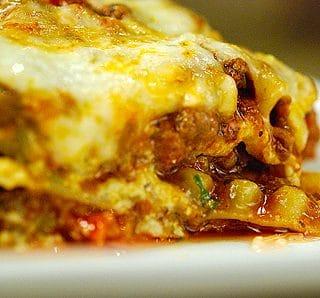 venison lasagna recipe