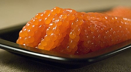 raw steelhead roe