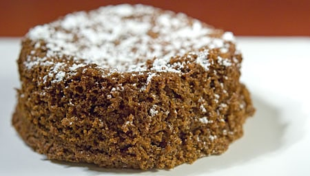acorn flour cake
