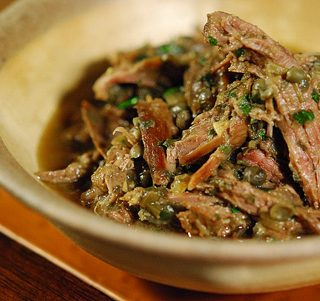 Italian wild hare stew