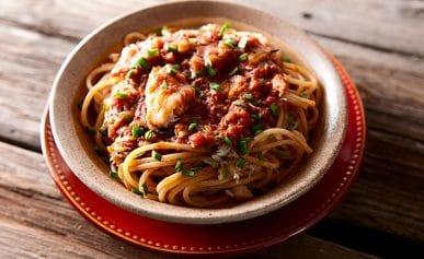 spaghetti crab sauce