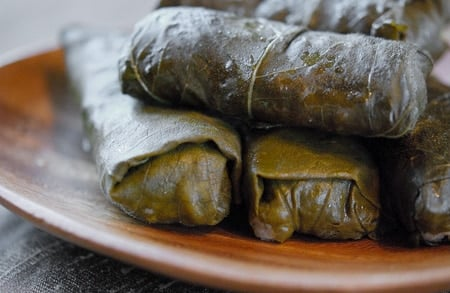 mallow dolmas 