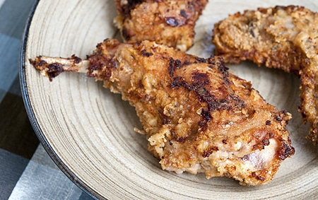 Buttermilk fried rabbit