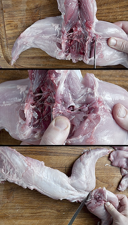 How to cut up a rabbit