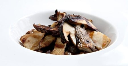 grilled porcini 