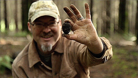 an Oregon black truffle