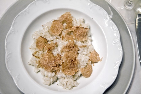 Oregon white truffle risotto