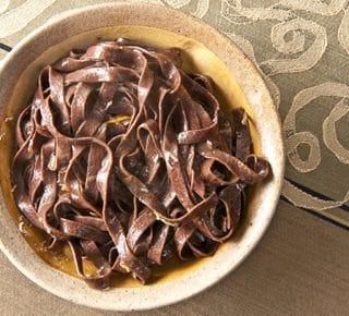 blood pasta, or blutnudeln
