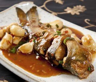 Sichuan fish with garlic recipe