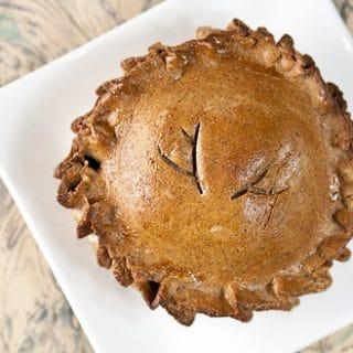 venison meat pie recipe