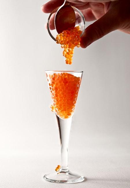 trout caviar
