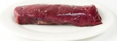 raw venison backstrap