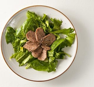 Sliced Venison Tongue Salad