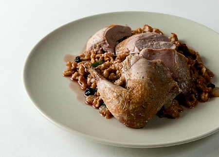 roast hungarian partridge recipe