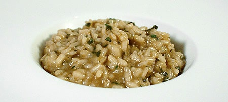 wild turkey risotto recipe