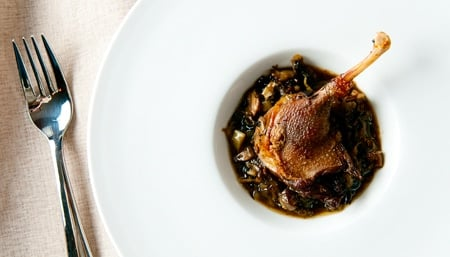 braised duck legs recipe