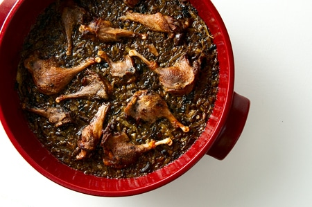 braised duck legs