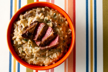 porcini risotto recipe