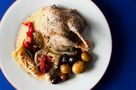 Greek preserved quail recipe