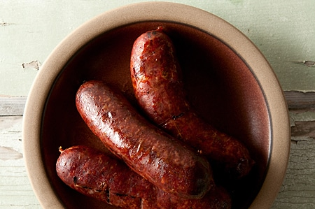 venison andouille recipe