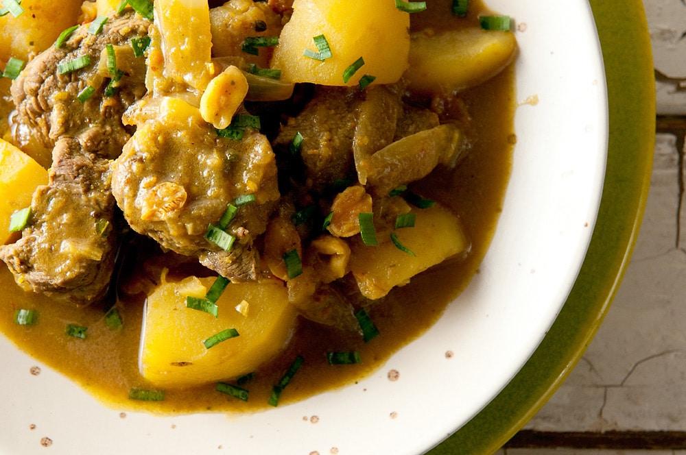 thai massaman curry venison