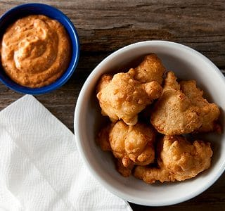 clam cakes recipe, Rhode Island style