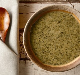 Sorrel Soup, French Style