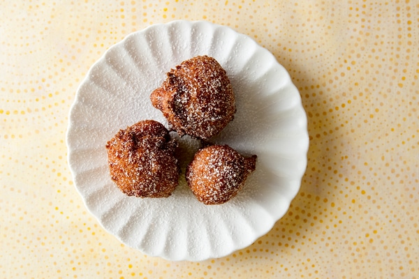 how to make elderflower fritters