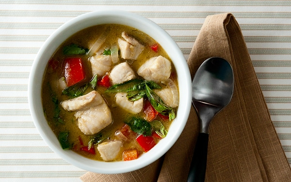 thai green curry fish recipe