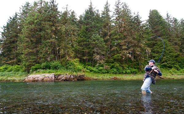 Hank Shaw salmon fishing