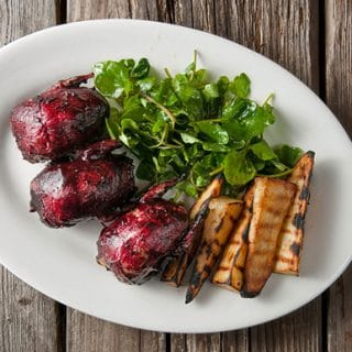 huckleberry BBQ doves recipe