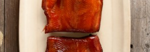 smoked pink salmon