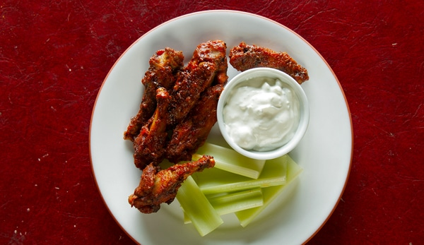 pheasant buffalo wings recipe