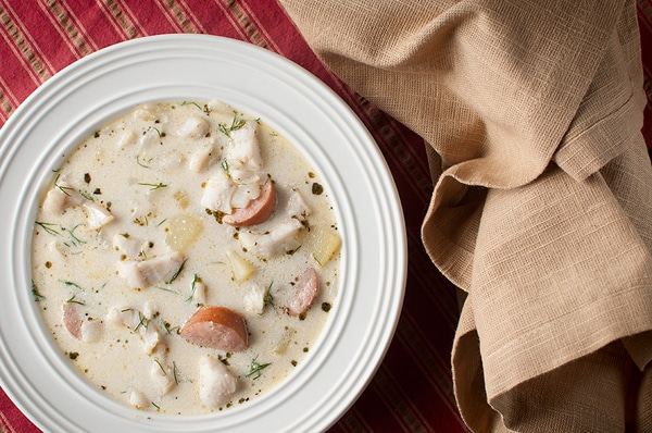 Yellow perch chowder recipe