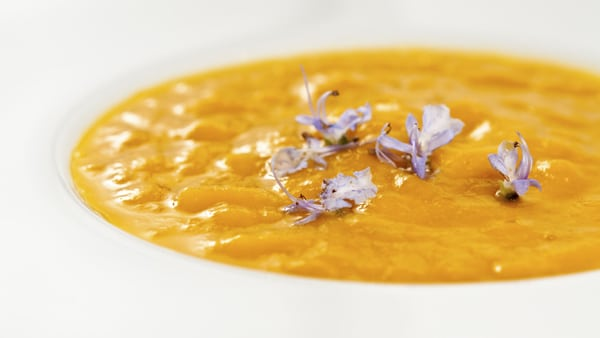 squash soup with bacon recipe