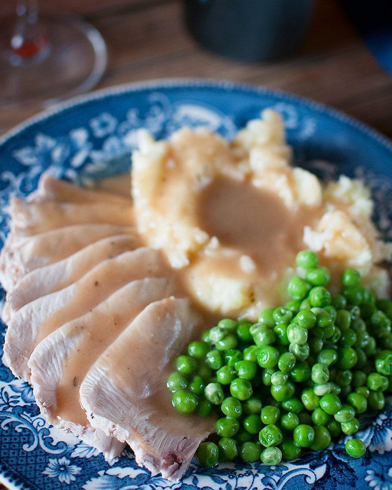 poached turkey breast recipe