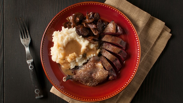 duck maple bourbon gravy recipe
