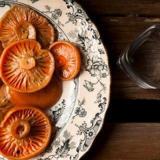 Polish Salted Mushrooms