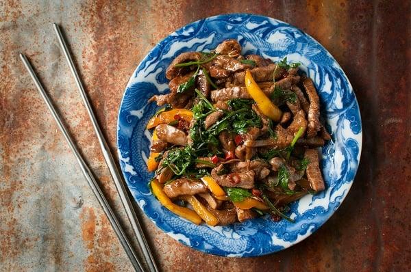 venison stir-fry recipe