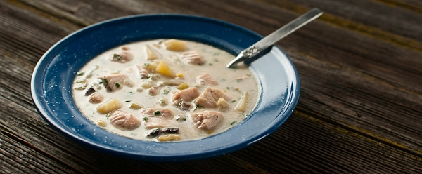 steelhead chowder 