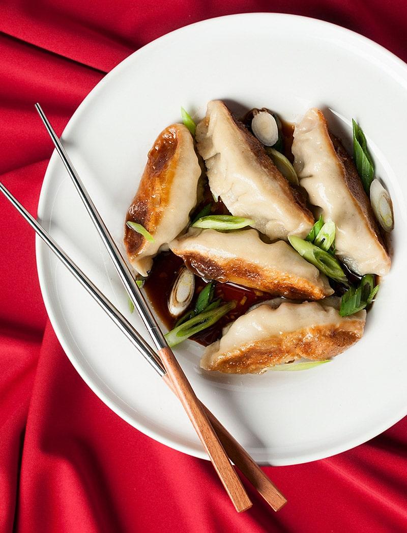 venison potstickers recipe
