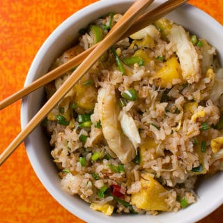 crab fried rice recipe