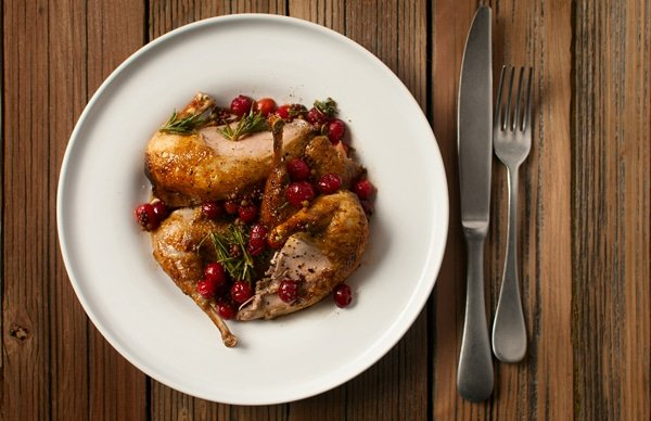 partridge cranberry recipe